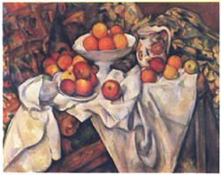セザンヌ,Still Life with Apples and Oranges,1895-1900年