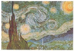 ゴッホ,The Starry Night,1889年