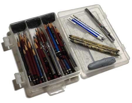 鉛筆デッサンの道具と画材