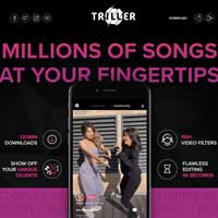 TikTokと米国アプリTRILLER